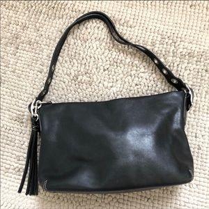 Coach | Hobo Leather Tassel Bag